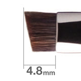 J163HSHBkSL Eyebrow Brush H Angled [H3855]