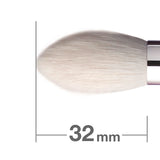 B5521GBkSL = J5521BkSL Highlighter Brush Tapered [H6068]