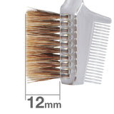 B029BkSL = K029 Brow Comb Brush Angled (clear) [H3761]