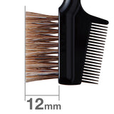 B030BkSL = K030 Brow Comb Brush Angled (black) [3816]