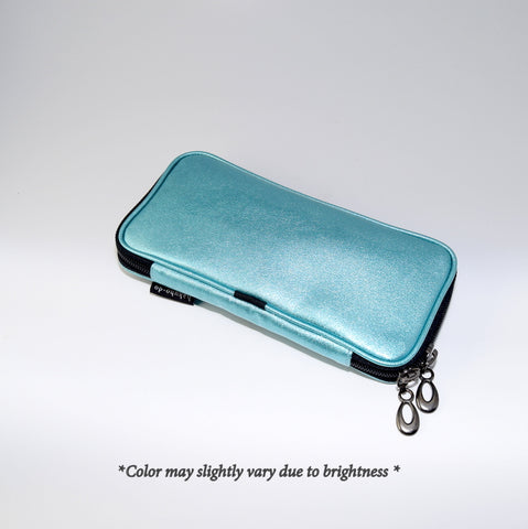 Po810Sb Enamel brush pouch - Sky Blue [H3475]