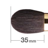 S111Bk Blush Brush round and flat [H5380]