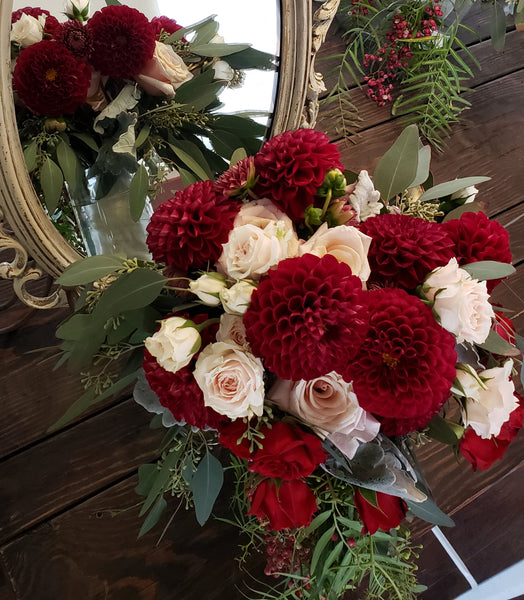 Seasonal Bridal Bouquet