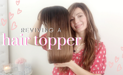 How to Revive an Old Human Hair Topper
