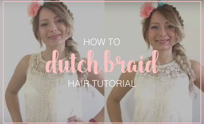 Side Double Dutch Braid