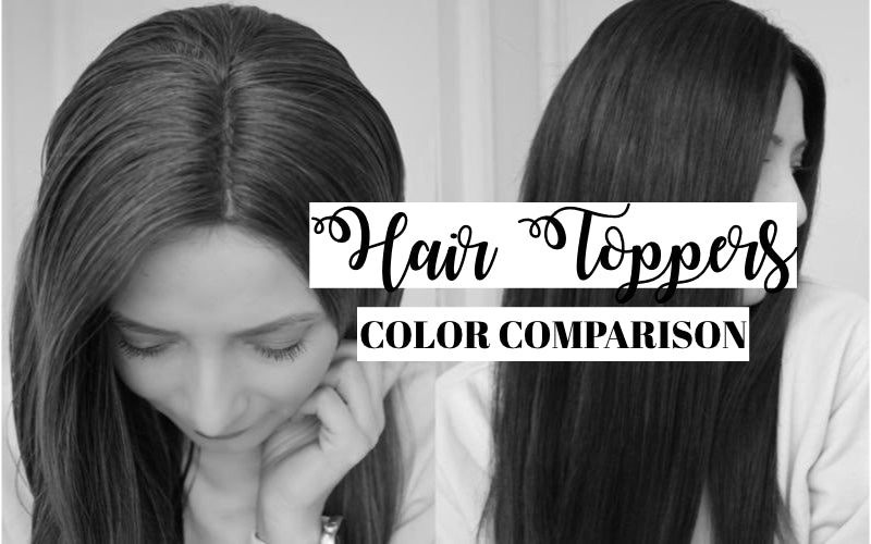 Hair Toppers Shade Comparison