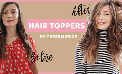 Introducing a New Line of Tressmerize Hair Toppers