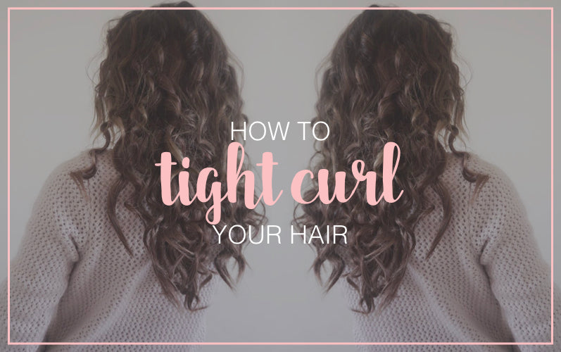 How to create Curly Hair with Curling Iron