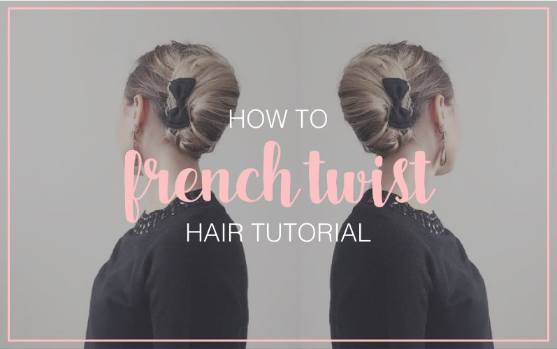Messy French Twist Updo