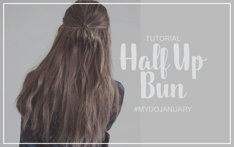 Half up Half Down Bun