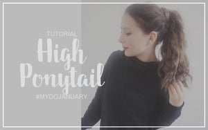 How to High Ponytail with Hair Extensions