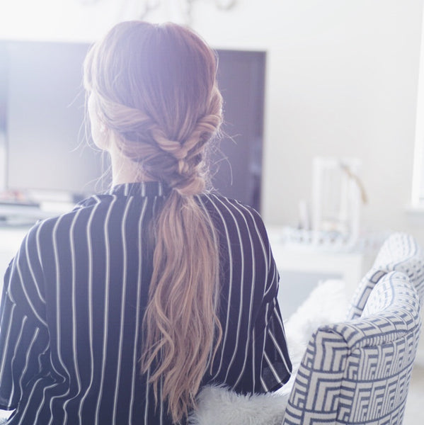 topsy tail ponytail