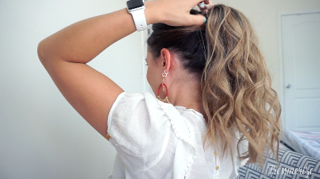 high voluminous ponytail tutorial