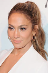 Jennifer Lopez High Ponytail