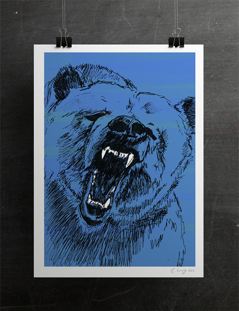 The Roaring Bear (Magnificent Blue) - Evie Kemp - 3