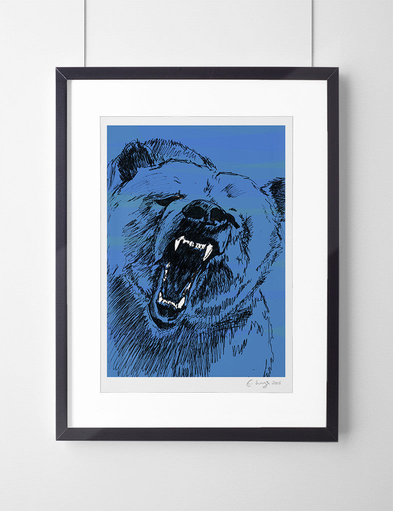 The Roaring Bear (Magnificent Blue) - Evie Kemp - 1