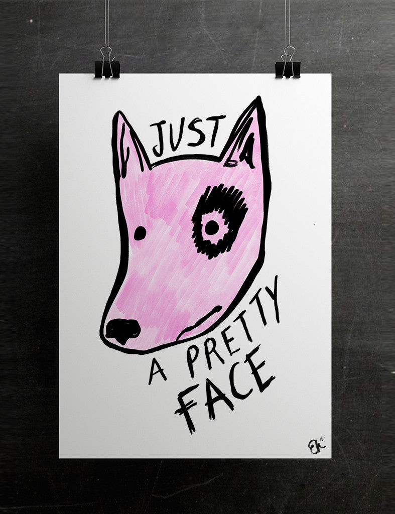 'Just a pretty face' dog - Evie Kemp - 3