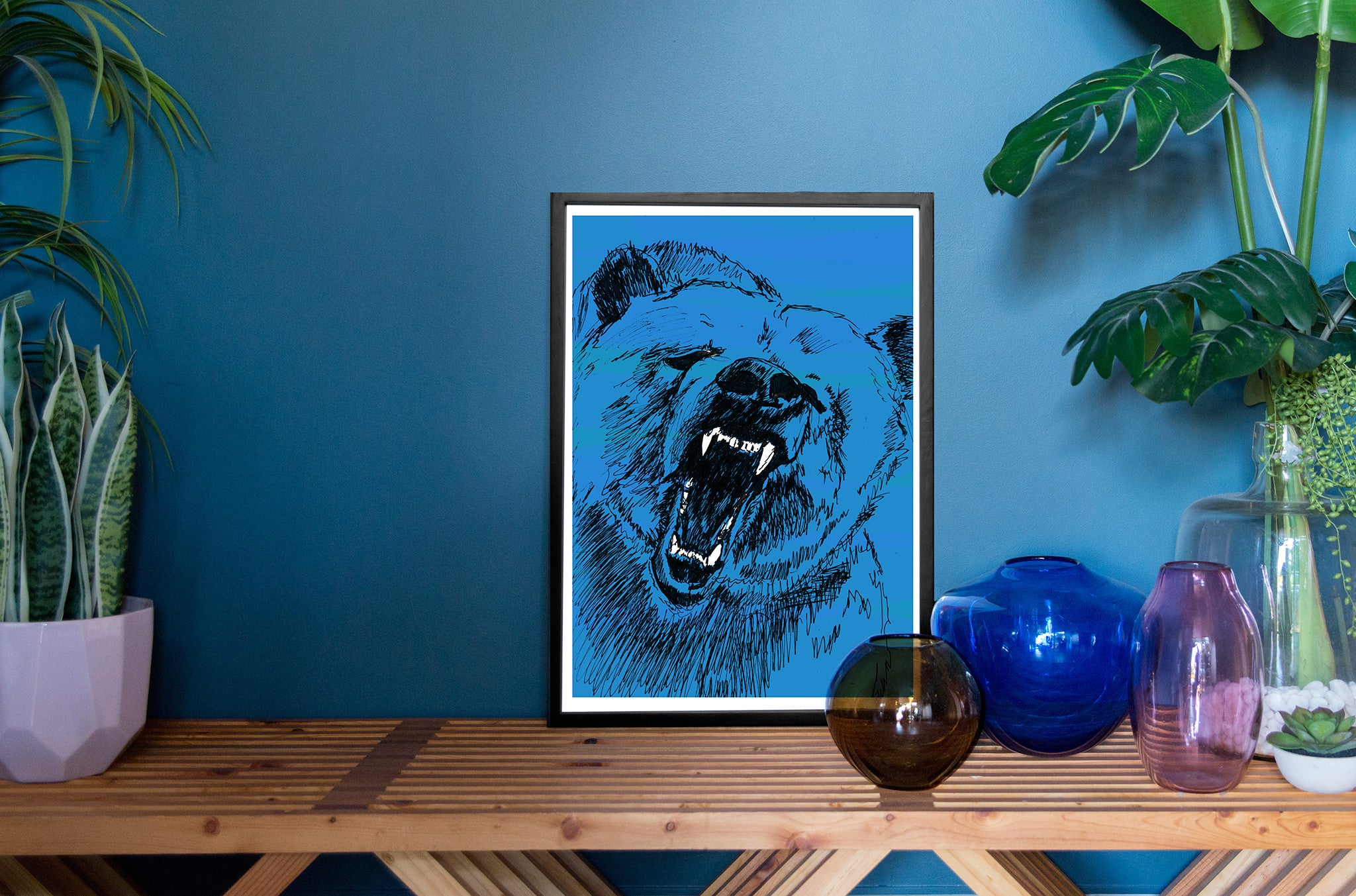 The Roaring Bear (Magnificent Blue) - Evie Kemp - 2