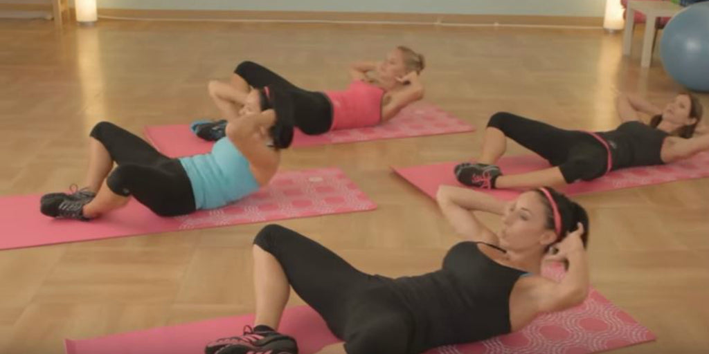 14-Minute Core Workout By Fé Fit
