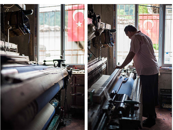 Skill and craftsmanship in creating hand-woven luxury hammam towels