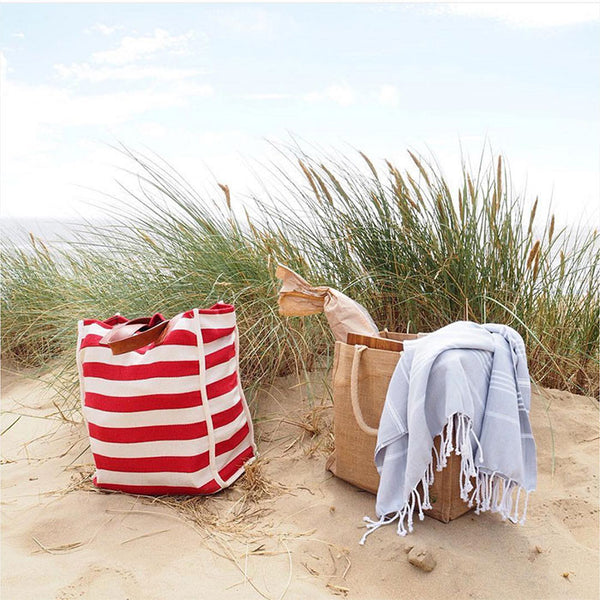 Turkish towel for a beach picnic