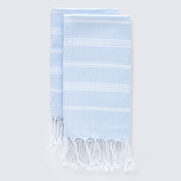 Set Of Classic Hand Towels | Powder