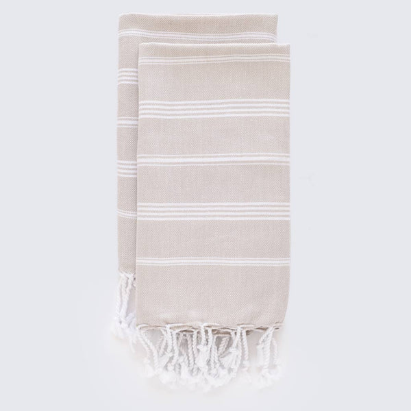 Set Of Classic Hand Towels | Sand