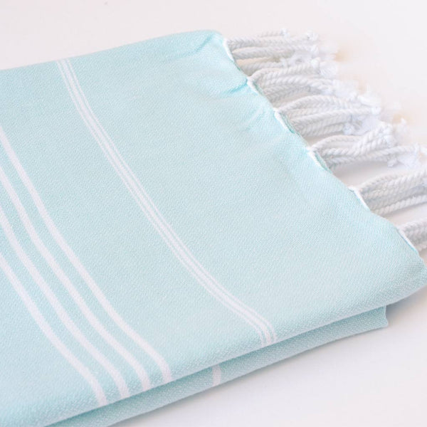 Set Of Classic Hand Towels | Seafoam