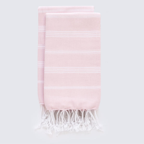 Set Of Classic Hand Towels | Blush