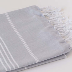 Set Of Classic Hand Towels | Pebble