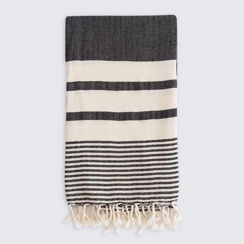 Odessa Towel | Charcoal