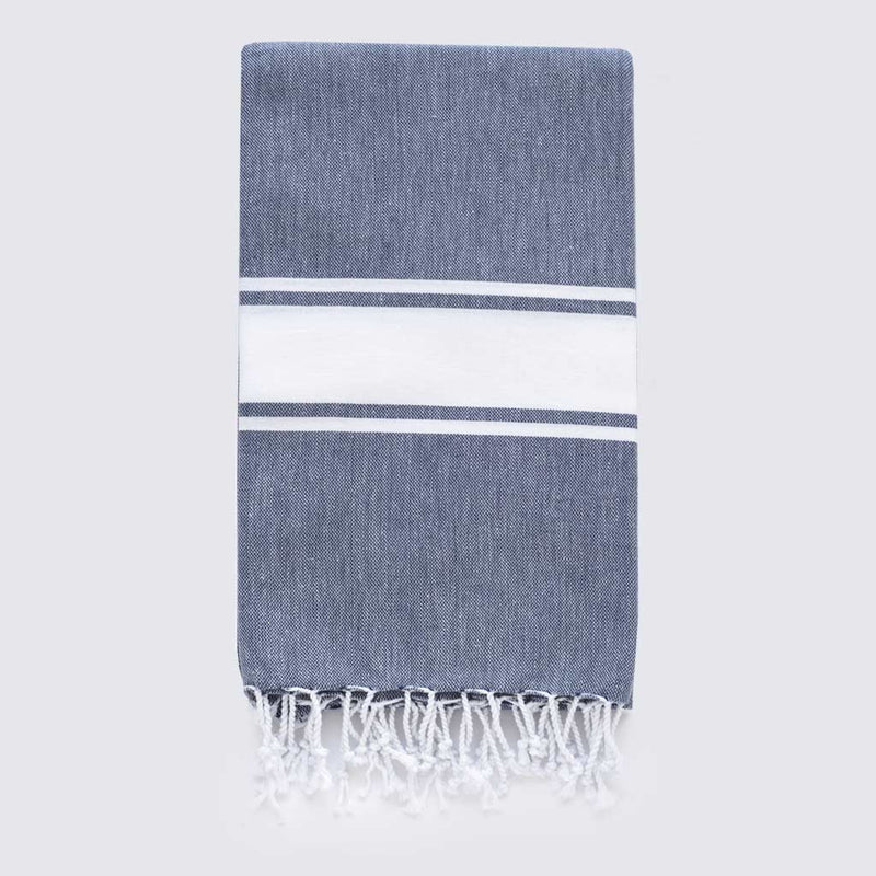 Hamptons Towel | Midnight