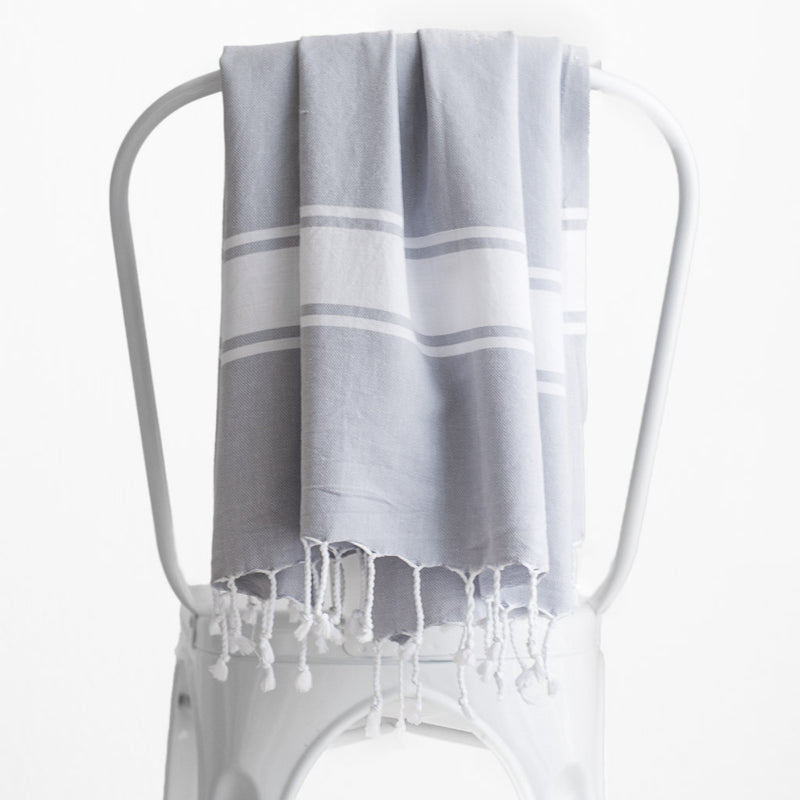 Hamptons Towel | Pebble
