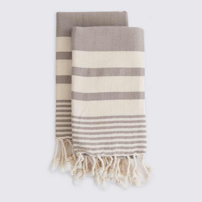 Set of Odessa Hand Towels | Earth