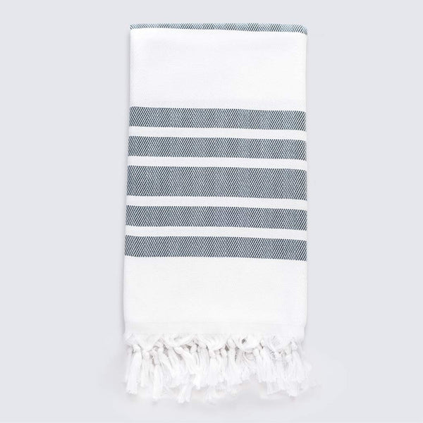 Palms Towel | Denim
