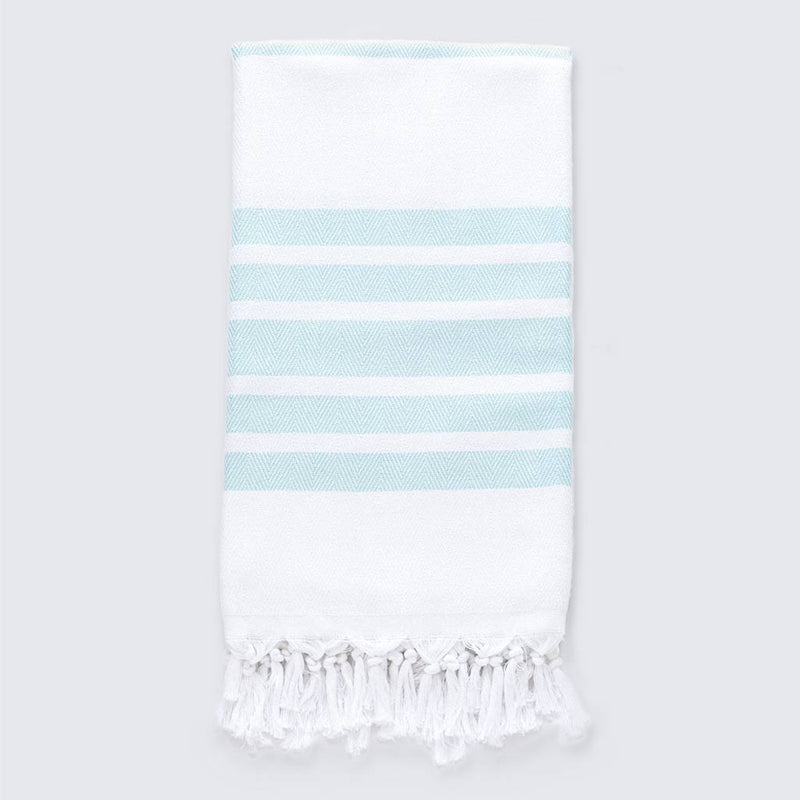Palms Towel | Seafoam