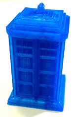 3D Printed Doctor Who TARDIS Look alike