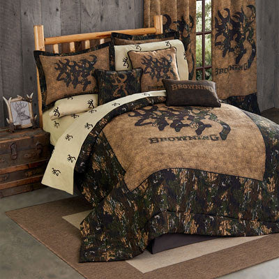 Browning Buckmark Comforter Set (Full Size) - My Bed Covers