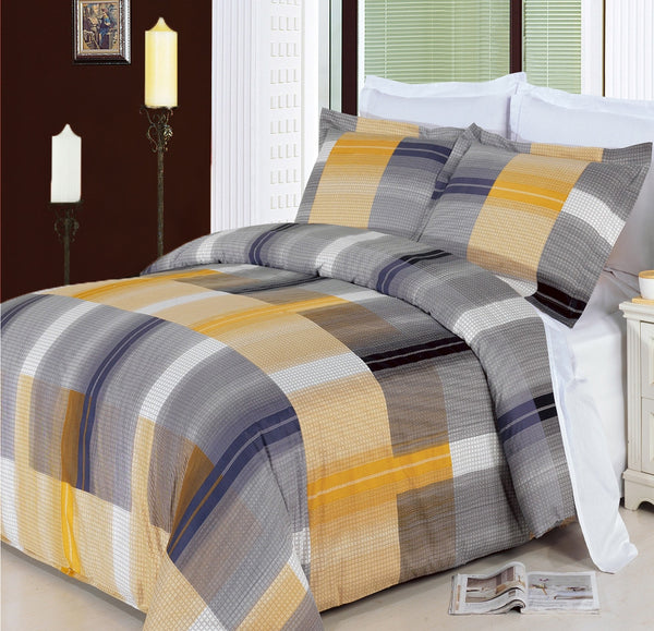 Amber Multi-Piece 100% Egyptian Cotton Duvet Set (King Size) | My Bed Covers