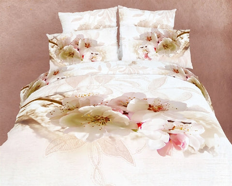 Apple Blossom 6PC Duvet Cover Set (Full/Queen Size) - My Bed Covers