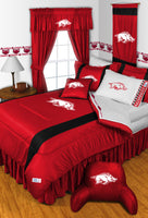 Arkansas Razorbacks NCAA Sideline Comforter | My Bed Covers