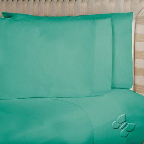 Armonia Turquoise Sheet Set (Twin Size)