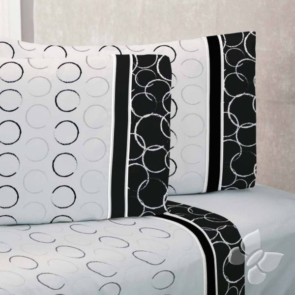 Black Delights Sheet Set (Queen Size) | My Bed Covers