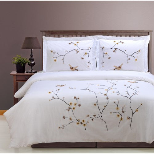Blossom 3 Piece Duvet Cover Set (King Size) | My Bed Covers