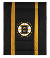 Boston Bruins NHL Sideline Comforter | My Bed Covers