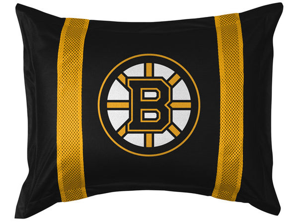Boston Bruins Pillow Sham | My Bed Covers