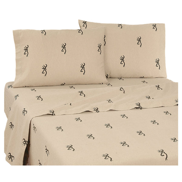 Browning Buckmark Sheet Set (Twin Size) | My Bed Covers