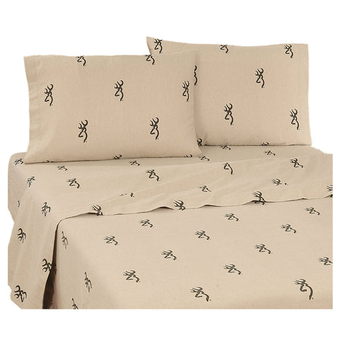 Browning Buckmark Sheet Set (King Size) - My Bed Covers