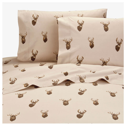 Browning Whitetails Sheet Set (King Size) - My Bed Covers