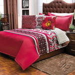 Budapest Comforter With Sherpa Set (Twin Size)